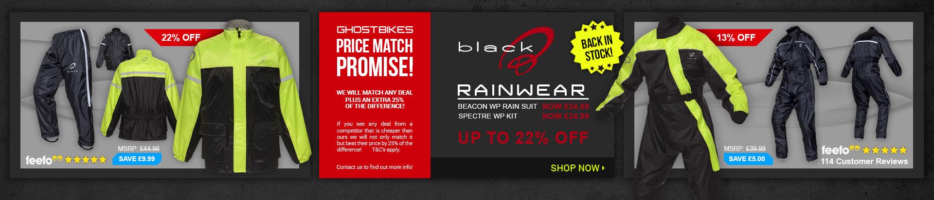 Black Rainwear