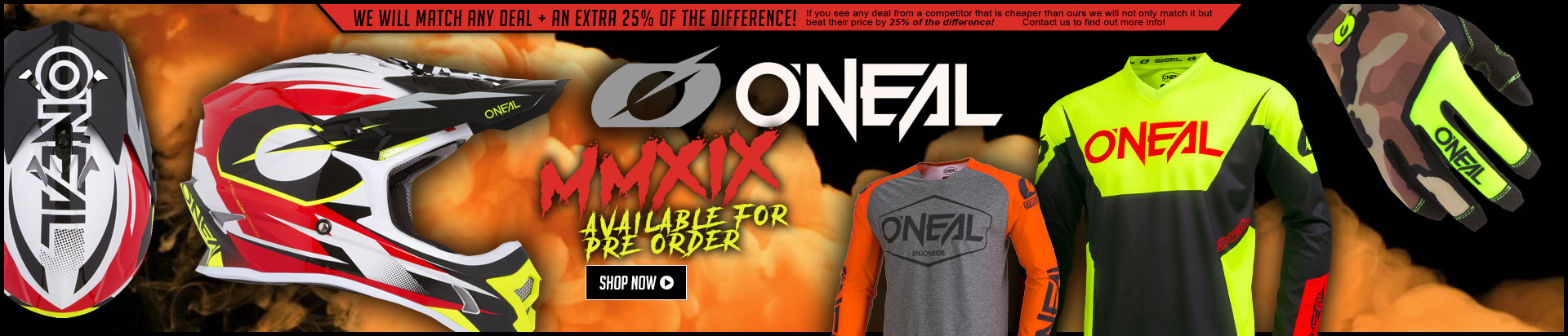 Oneal Pre Order