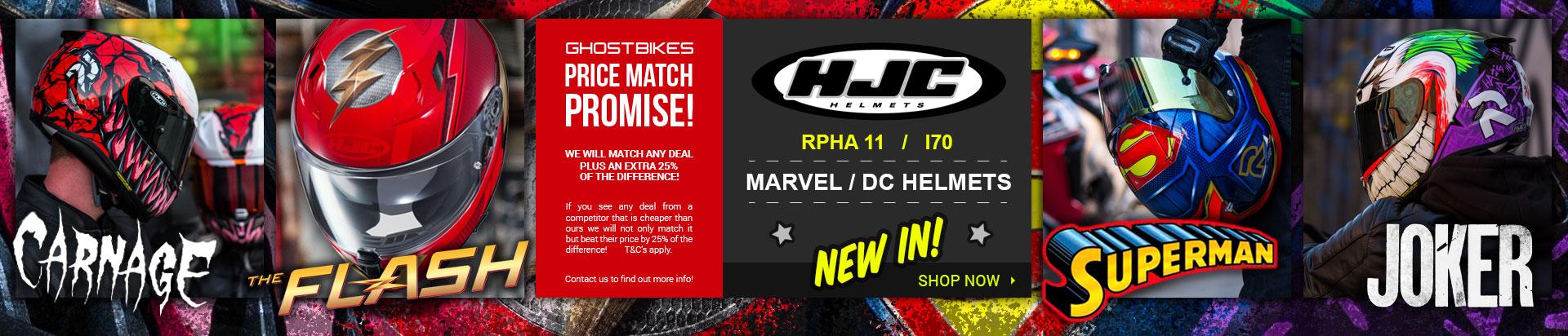 HJC Superheros
