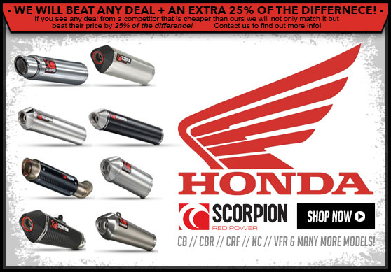Scorpion Honda Exhausts