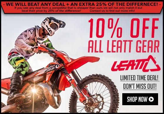 10% Off Leatt