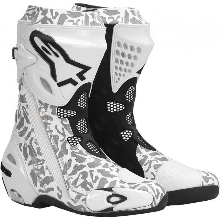 alpinestars supertech r motorcycle boots boots. Black Bedroom Furniture Sets. Home Design Ideas