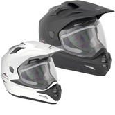 Stealth HD-009 Adventure Plain Dual Sport Motorcycle Helmet