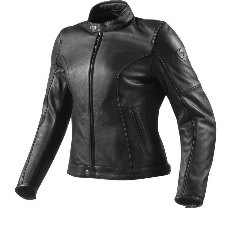Rev It Roamer Ladies Leather Motorcycle Jacket