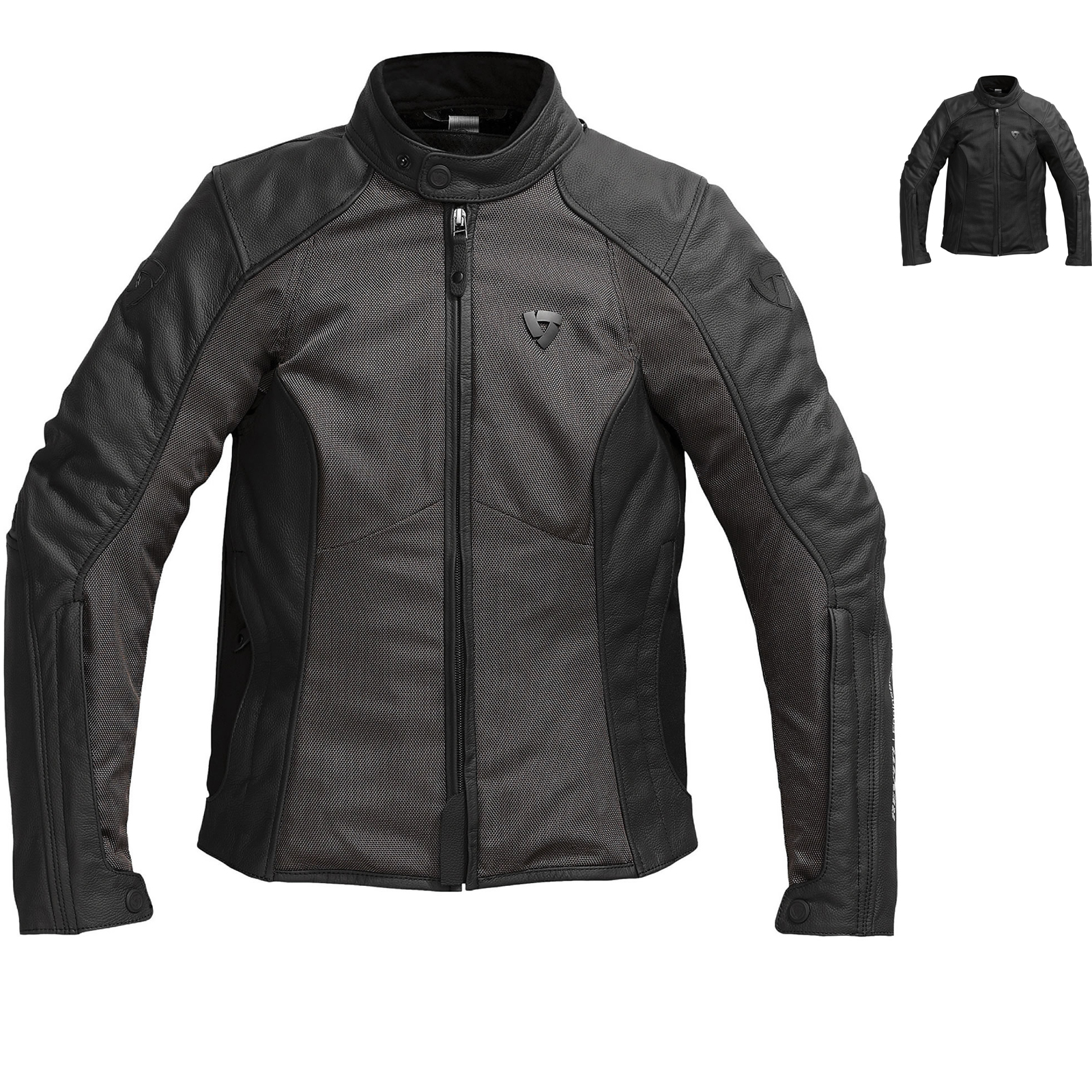 rev it ignition 2 ladies leather motorcycle jacket. Black Bedroom Furniture Sets. Home Design Ideas