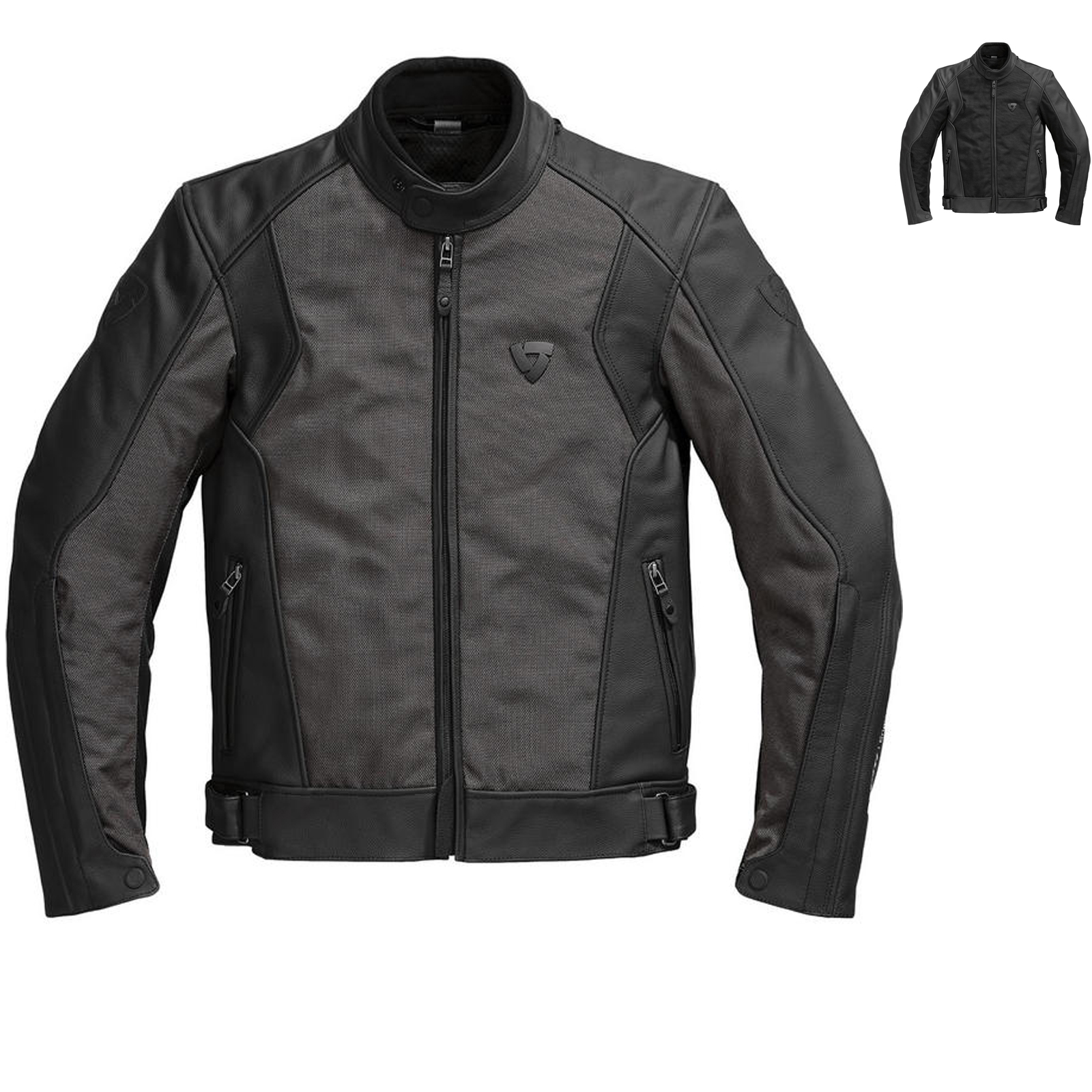 rev it ignition 2 leather motorcycle jacket jackets. Black Bedroom Furniture Sets. Home Design Ideas
