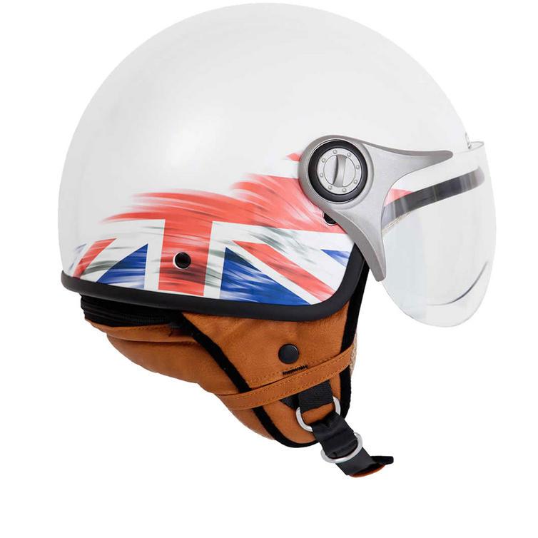 Spada Jetstream Union Jack Open Face Motorcycle Helmet