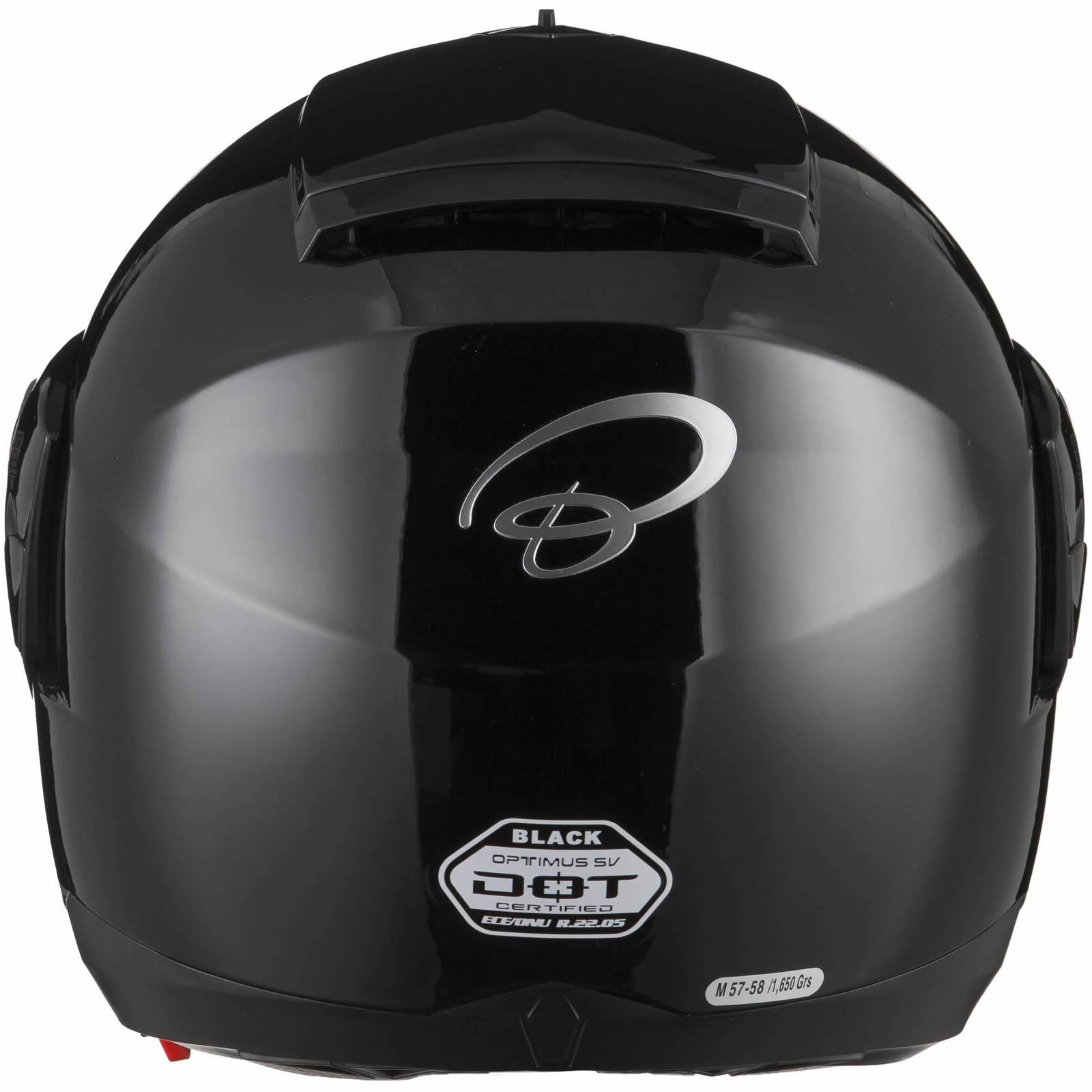 Black-Optimus-SV-Max-Vision-Flip-Up-Front-Motorcycle-Helmet-Pinlock-Ready-Visor thumbnail 16