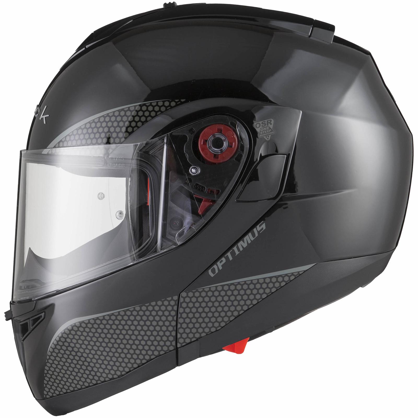Black-Optimus-SV-Max-Vision-Flip-Up-Front-Motorcycle-Helmet-Pinlock-Ready-Visor thumbnail 17