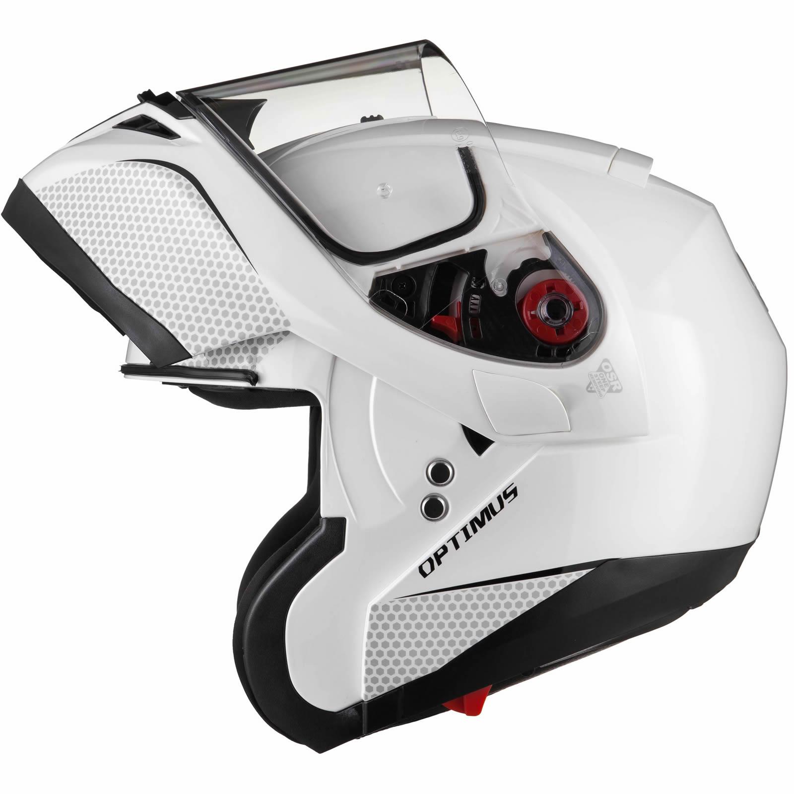 Black-Optimus-SV-Max-Vision-Flip-Up-Front-Motorcycle-Helmet-Pinlock-Ready-Visor thumbnail 27