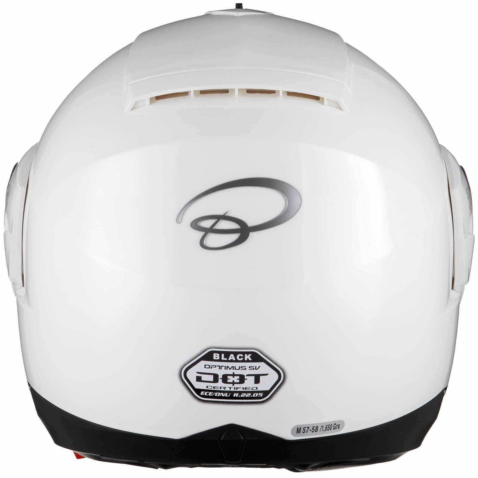 Black-Optimus-SV-Max-Vision-Flip-Up-Front-Motorcycle-Helmet-Pinlock-Ready-Visor thumbnail 28