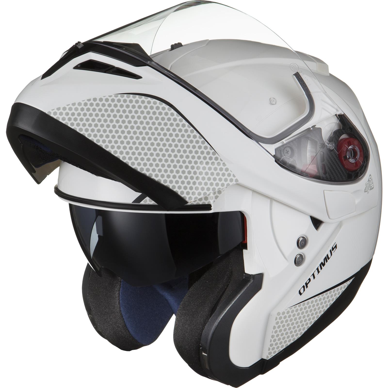 Black-Optimus-SV-Max-Vision-Flip-Up-Front-Motorcycle-Helmet-Pinlock-Ready-Visor thumbnail 30