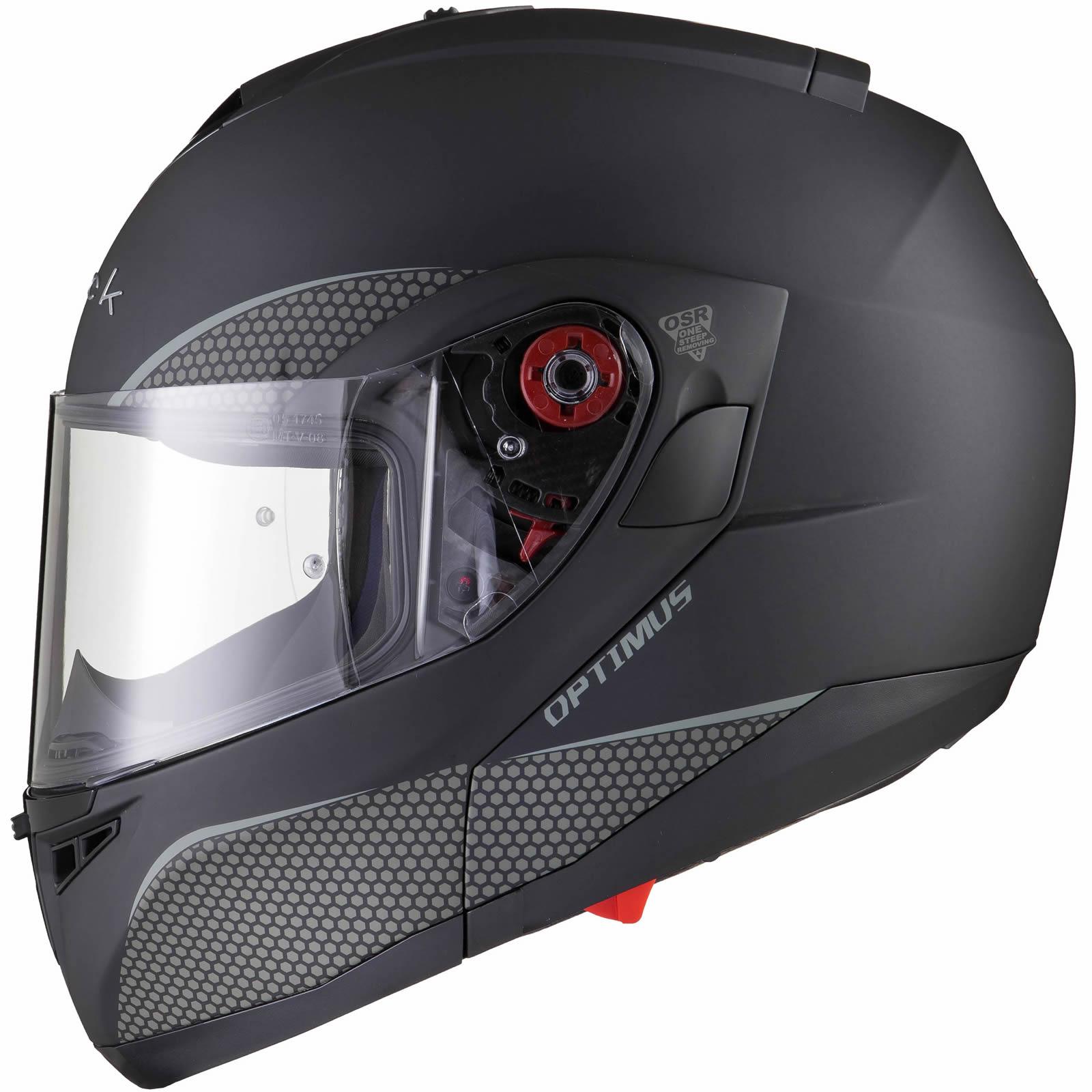 Black-Optimus-SV-Max-Vision-Flip-Up-Front-Motorcycle-Helmet-Pinlock-Ready-Visor thumbnail 23