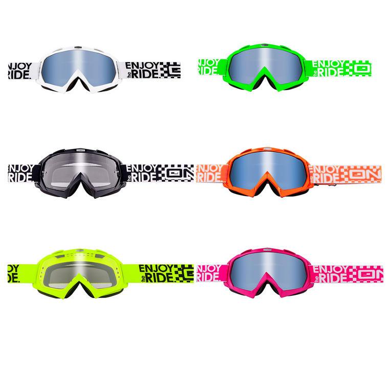 Oneal Blur B-Flex Launch Clear Motocross Goggles