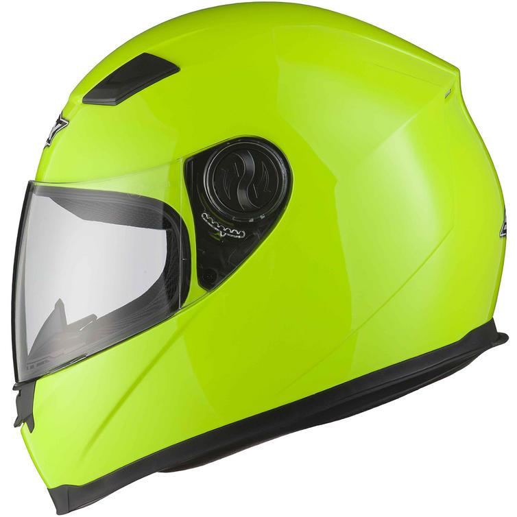 Shox Sniper Hi-Vis Motorcycle Helmet