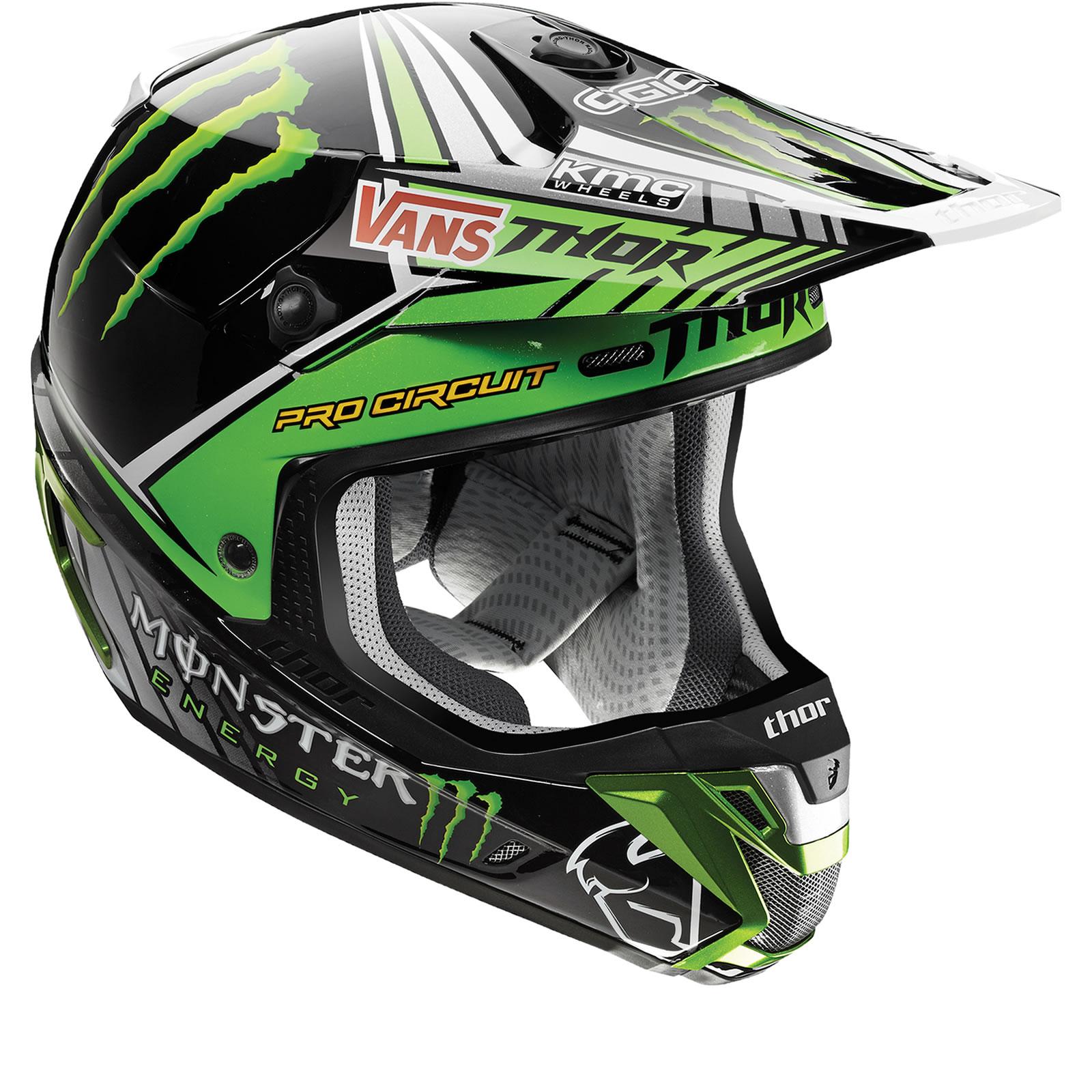 Thor Verge S15 Pro Circuit Replica Motocross Helmet ...