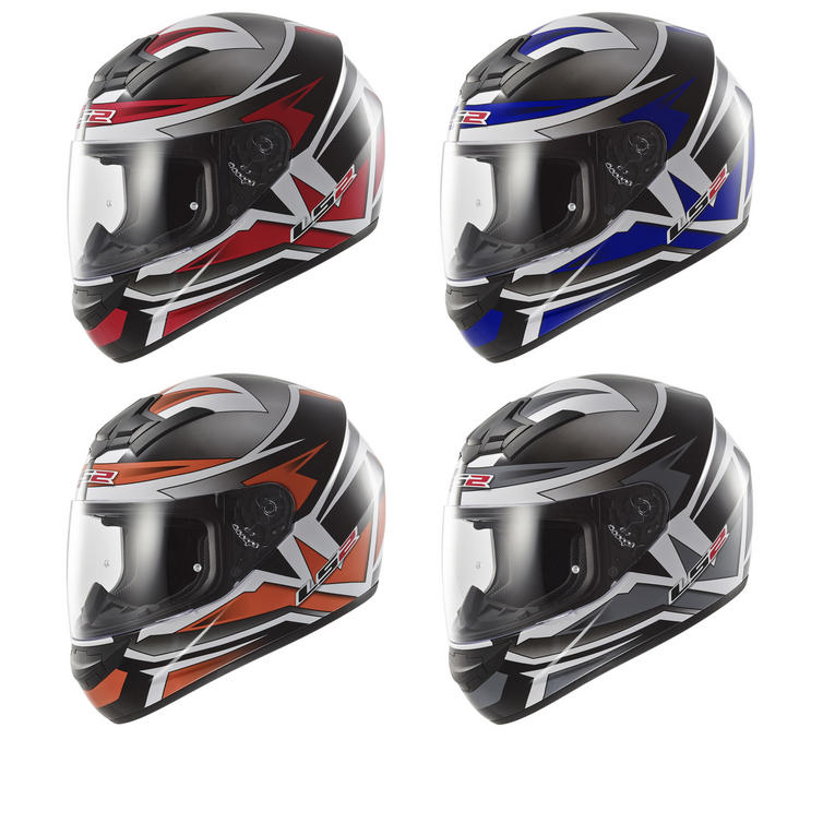 c448ba87 LS2 FF352.51 Rookie Gamma Full Face Motorcycle Helmet - Full Face Helmets -  Ghostbikes.com