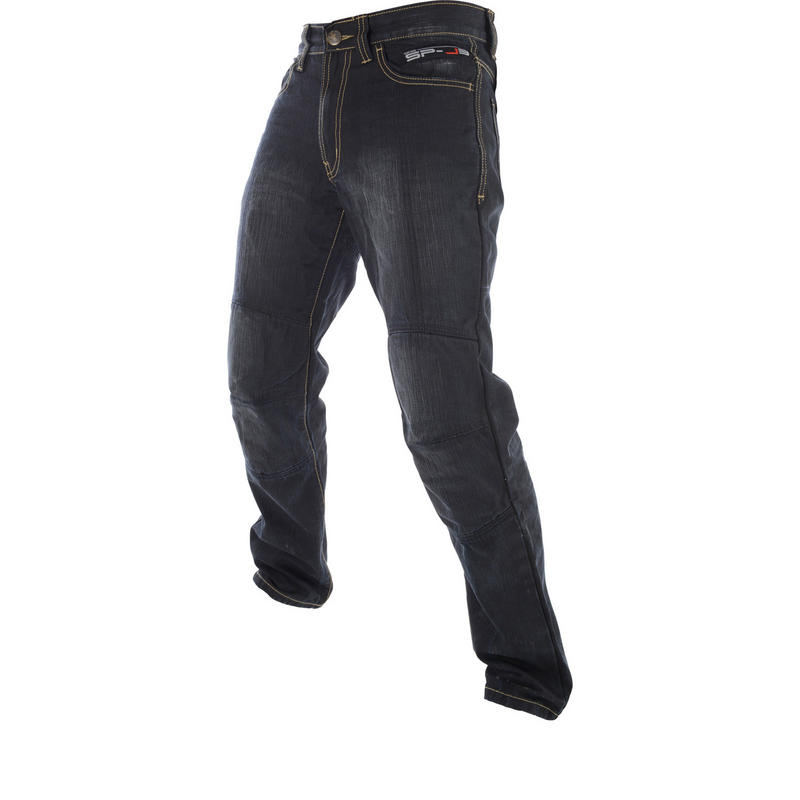 Oxford Aramid SP-J3 Motorcycle Jeans Black
