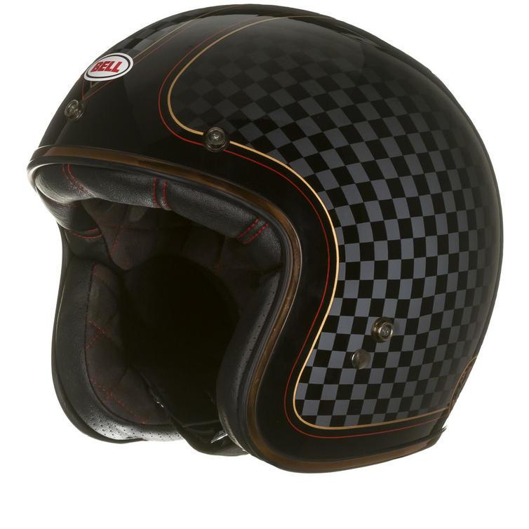 Bell Custom 500 SE RSD Check It Deluxe Motorcycle Helmet