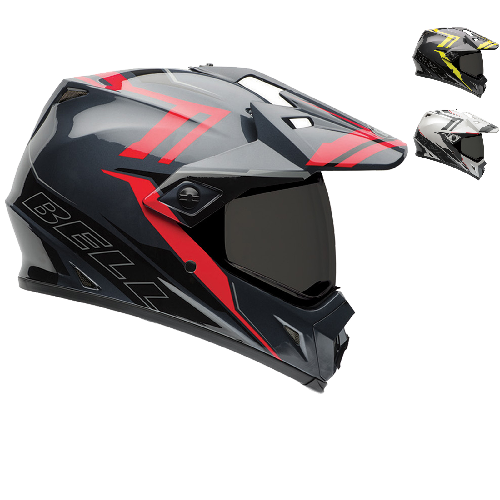 bell mx 9 adventure barricade motocross helmet adventure helmets. Black Bedroom Furniture Sets. Home Design Ideas