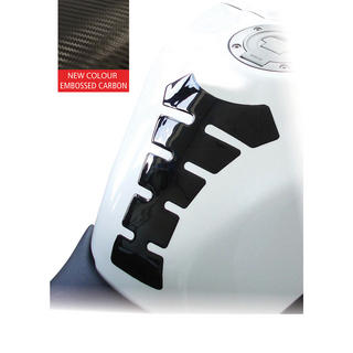 Oxford Embossed Carbon Motorcycle Tank Protector