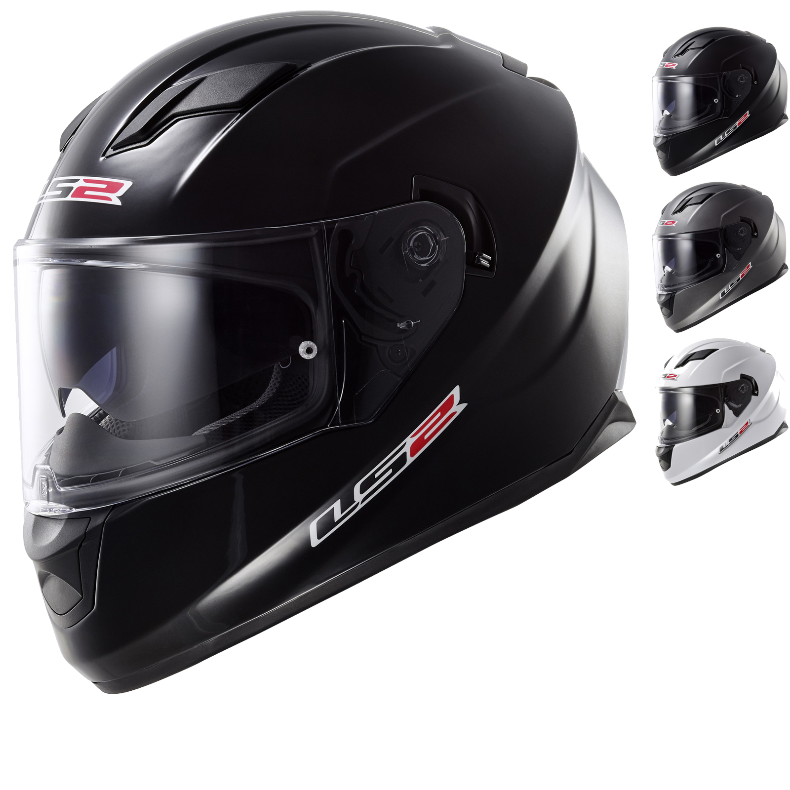 LS2 FF320 Stream Solid Motorcycle Helmet Full Face Helmets