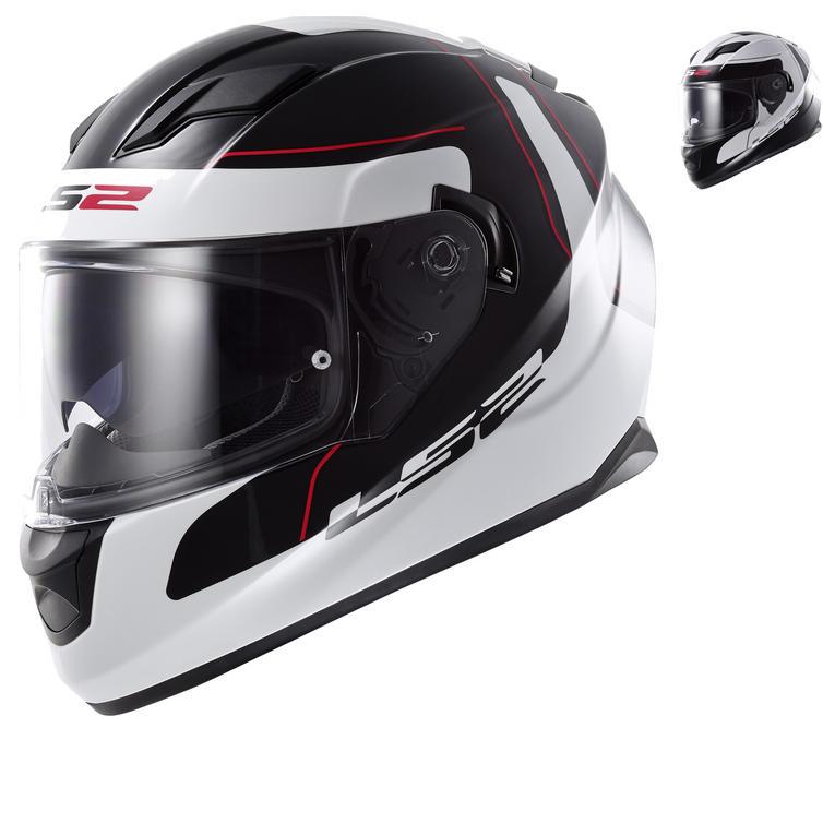 LS2 FF320 Stream Lunar Motorcycle Helmet