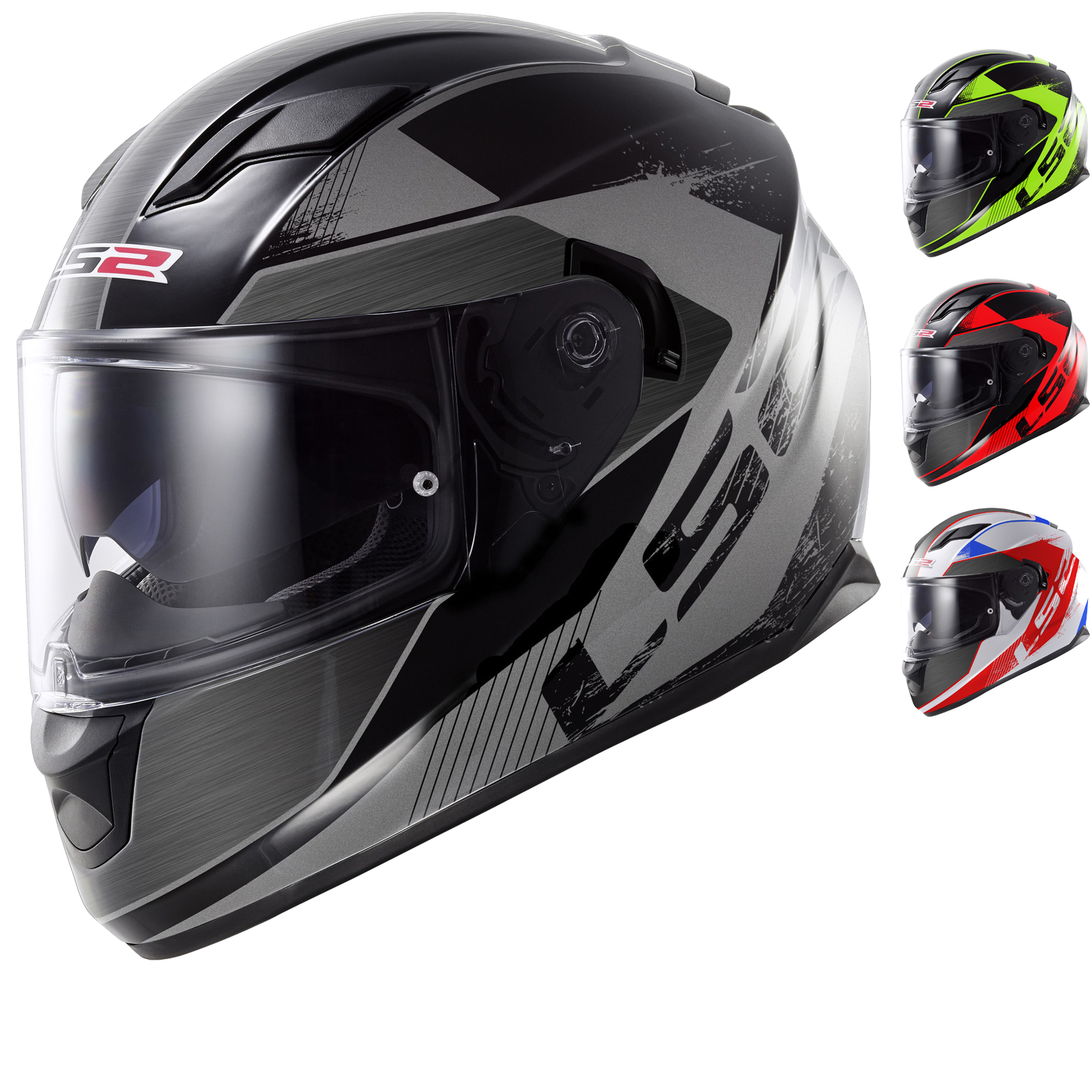 Lightweight Motorcycle Helmet >> LS2 FF320 Stream Stinger Motorcycle Helmet - Full Face ...