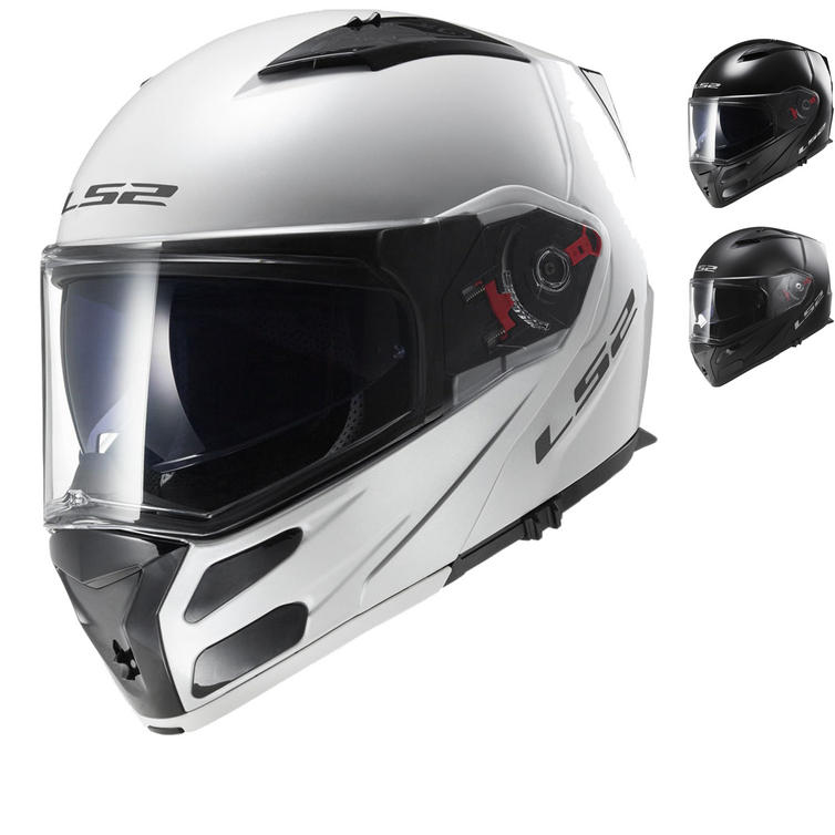 LS2 FF324.1 Metro Solid Flip Front Motorcycle Helmet