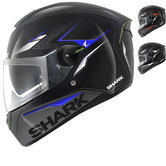 Shark SKWAL Matador LED Motorcycle Helmet