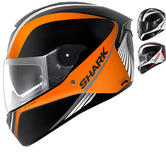 Shark SKWAL Spinax LED Motorcycle Helmet