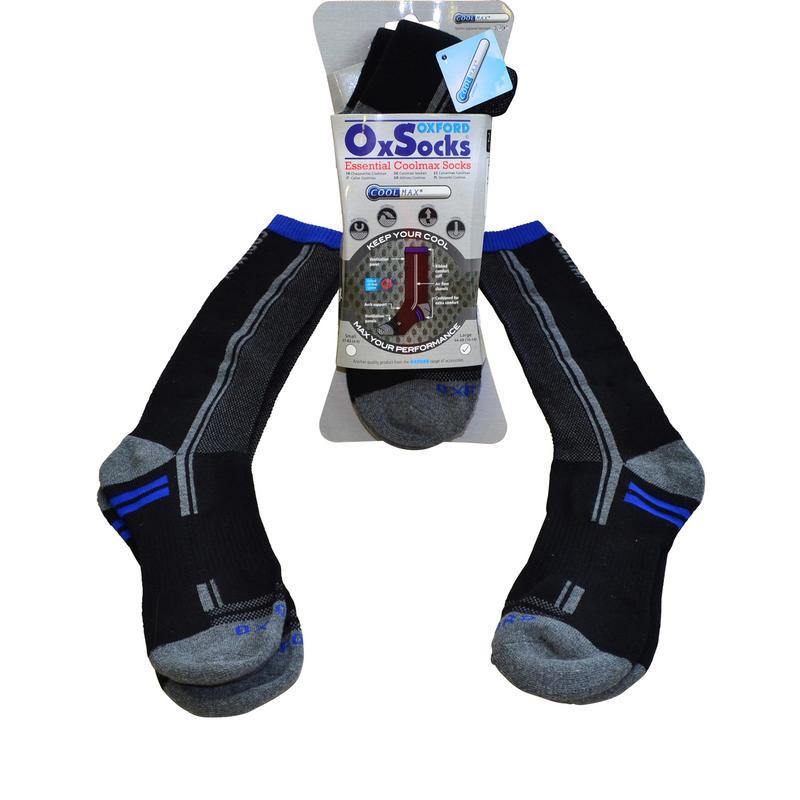 Oxford Motorcycle Coolmax Socks