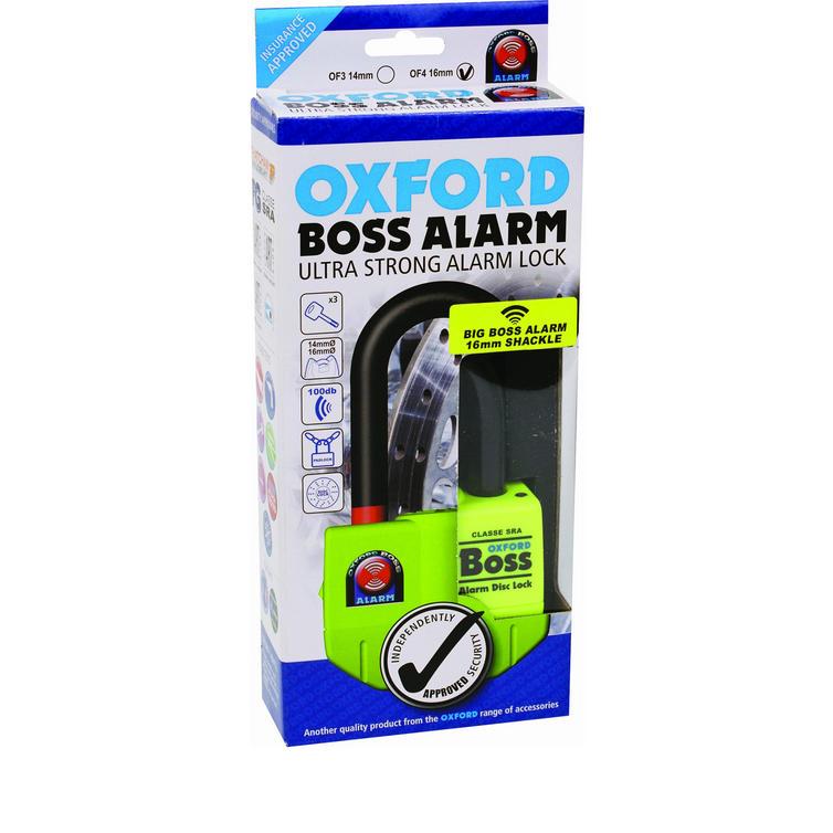 Oxford Big Boss Alarm Disc Lock 16mm