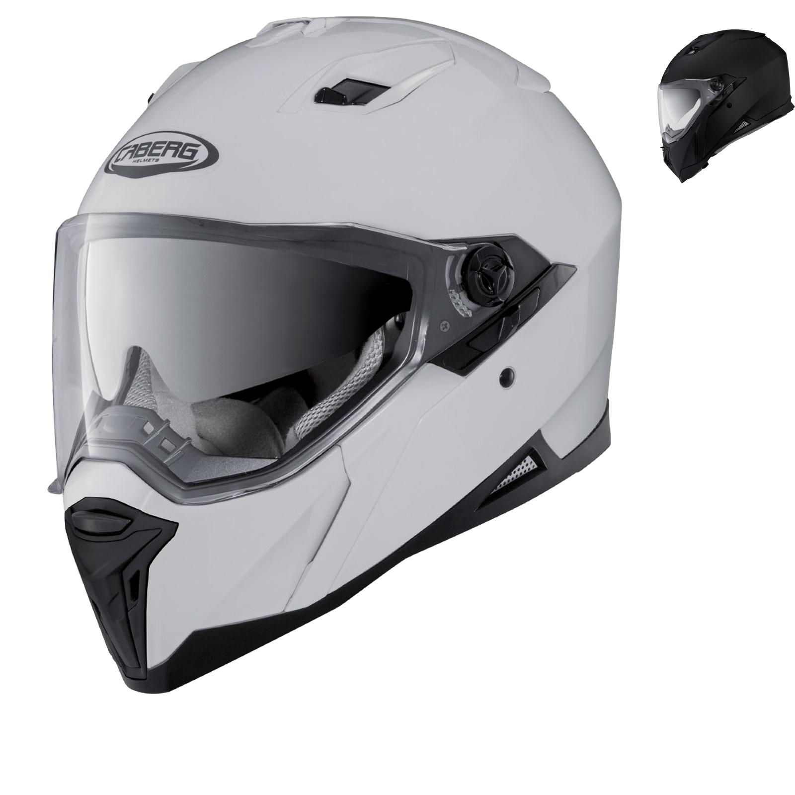 80e1cb66 Caberg Stunt Motorcycle Helmet Internal Sun Visor Motorbike ECE Full ...