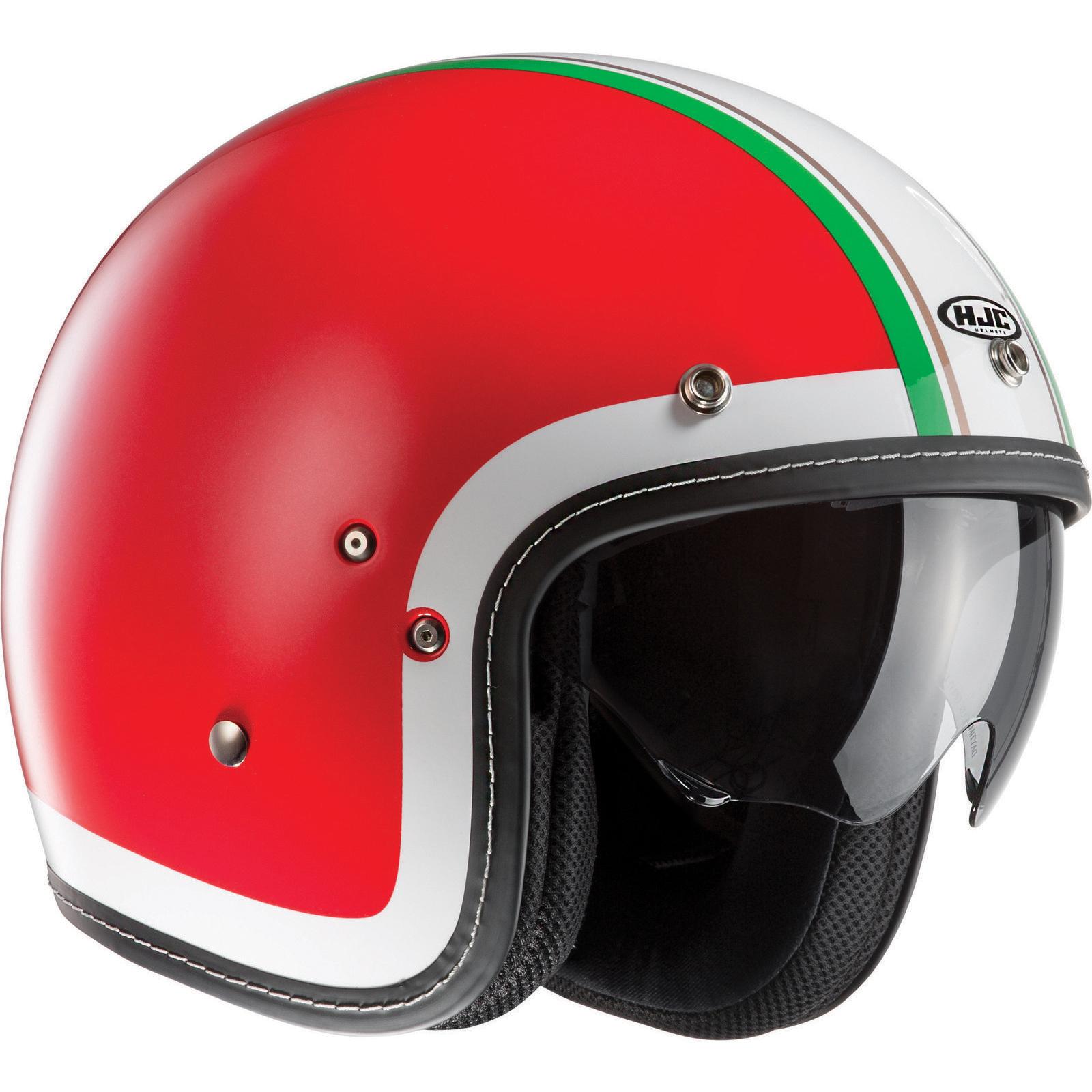 HJC-FG-70S-Heritage-Open-Face-Motorcycle-Helmet-Motorbike-Racing-Visor-Scooter