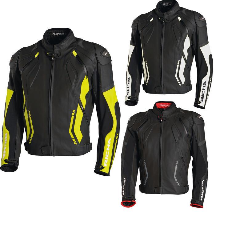 Richa Mugello Leather Motorcycle Jacket