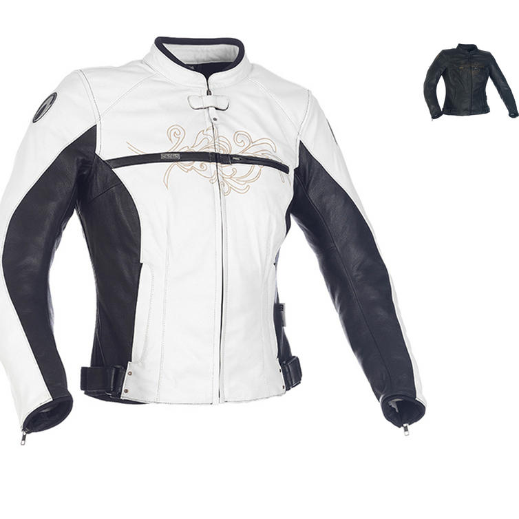 Richa Montannah Ladies Leather Motorcycle Jacket