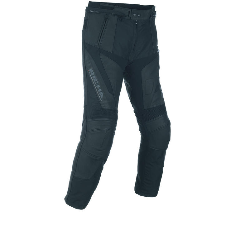 Richa Ballistic Leather Motorcycle Trousers