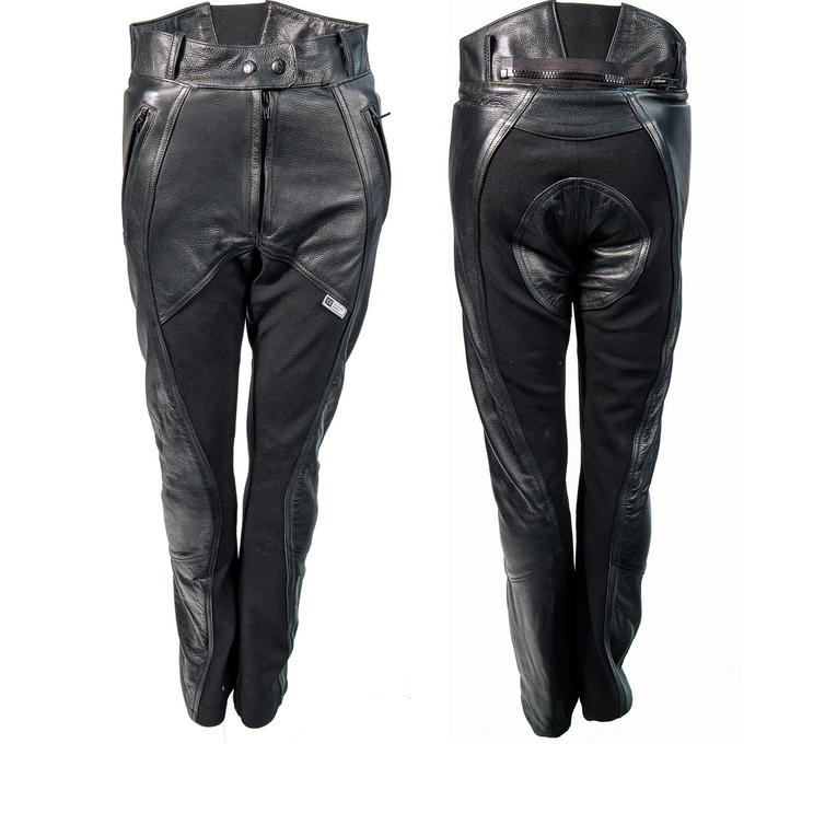 c861497580 Richa Freedom Ladies Leather Motorcycle Trousers - Trousers - Ghostbikes.com