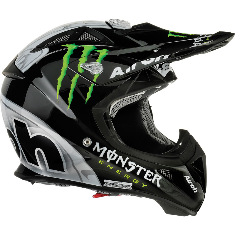airoh aviator monster energy motocross helmet airoh. Black Bedroom Furniture Sets. Home Design Ideas