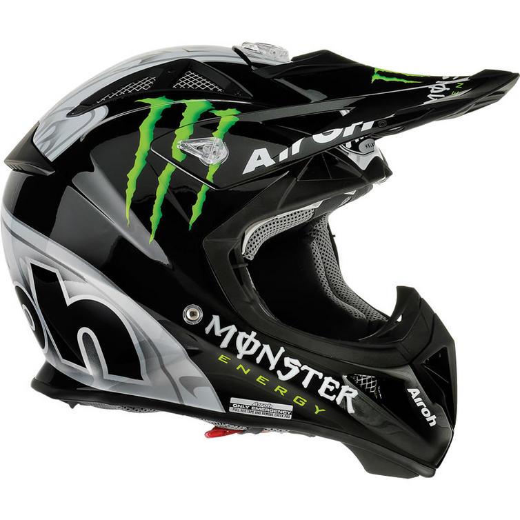 airoh aviator monster energy motocross helmet helmets