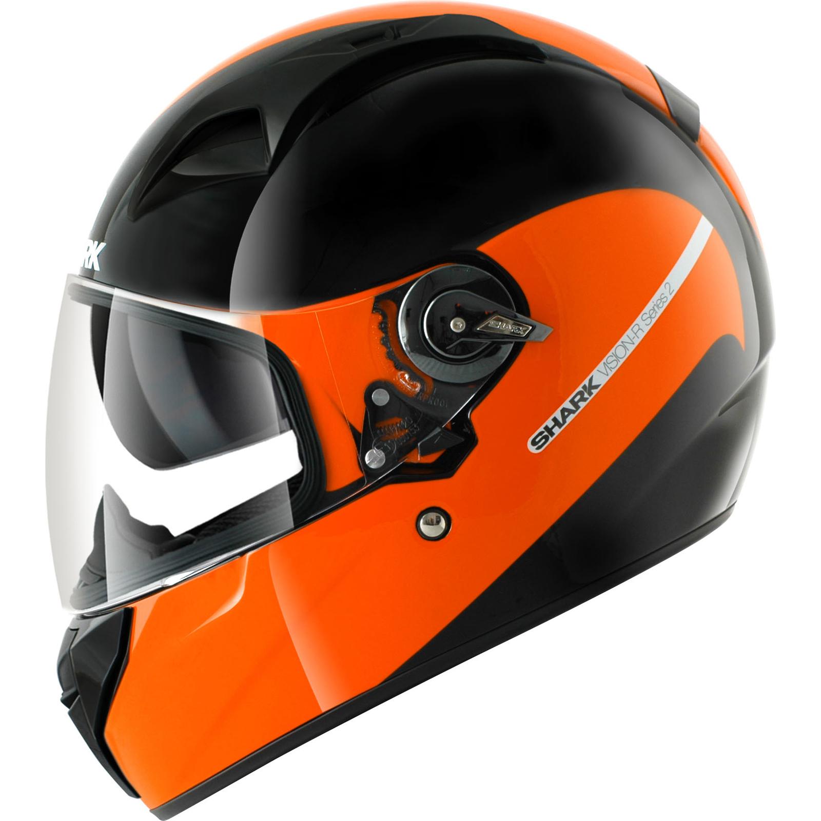 shark vision r series 2 st inko full face motorbike helmet sunvisor urban crash ebay. Black Bedroom Furniture Sets. Home Design Ideas