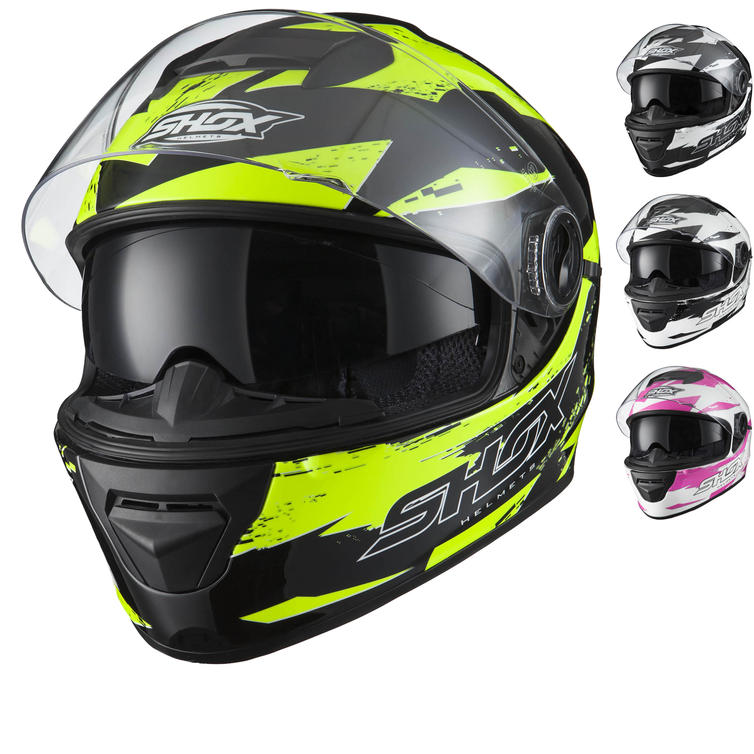 Shox Assault Trigger Motorcycle Helmet
