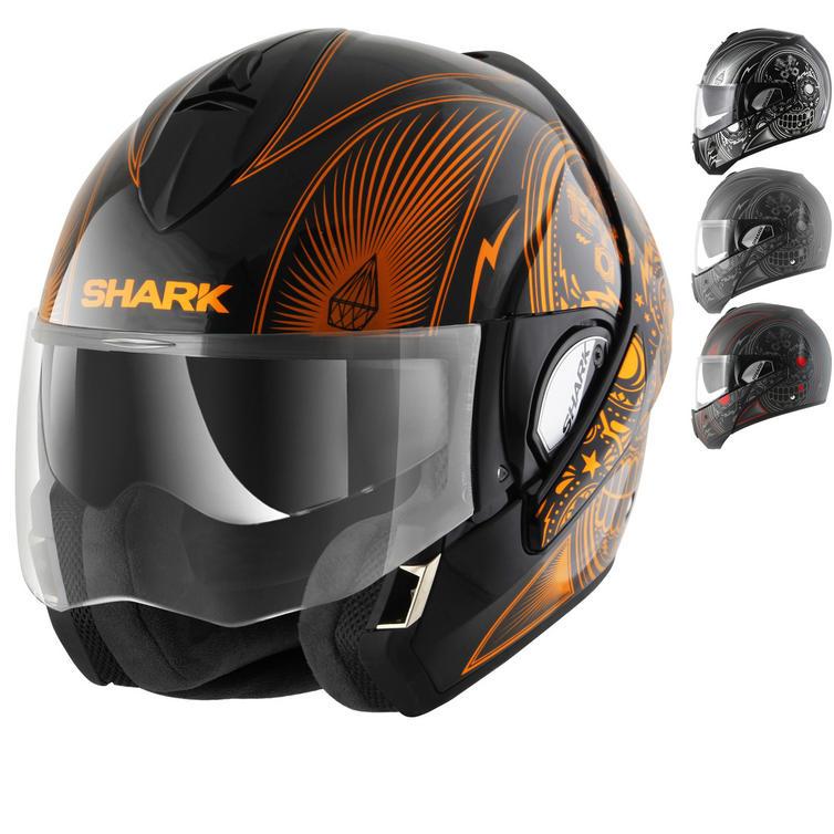 Shark Evoline S3 Mezcal Flip Front Motorcycle Helmet