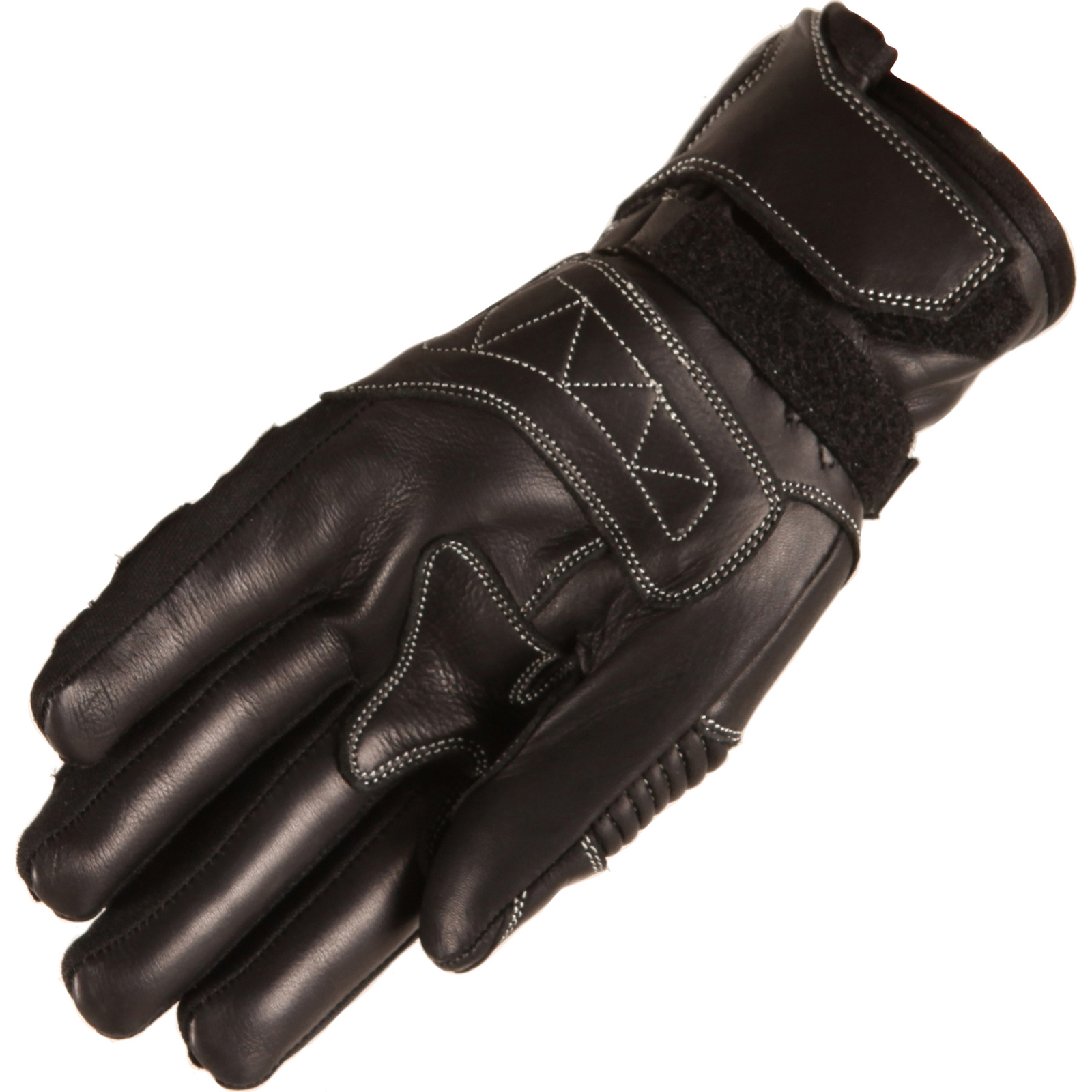 Buffalo-Bambino-Youth-Motorcycle-Gloves-Leather-Junior-Childrens-Hard-Knuckles