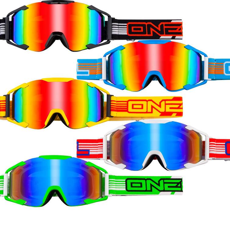 Oneal B2 ThreeSixZero Motocross Goggles Radium