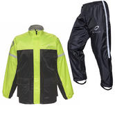 Black Spectre Waterproof Motorcycle Hi-Vis Kit