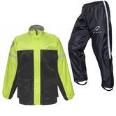 Black Spectre Waterproof Motorcycle Hi-Vis Kit