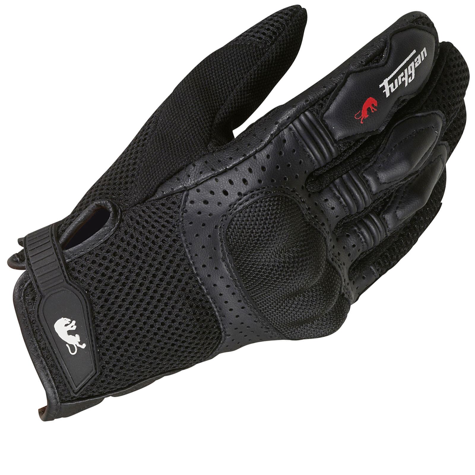 Sport Motorcycle Gloves: Furygan TD12 Sport Motorcycle Gloves