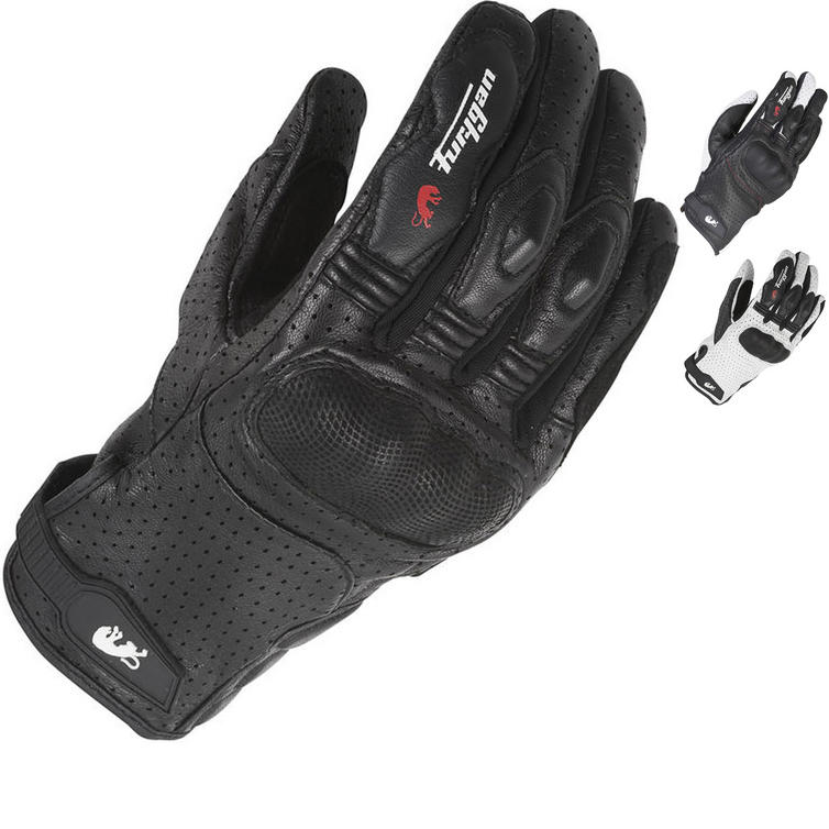 Furygan TD21 Sport Leather Motorcycle Gloves
